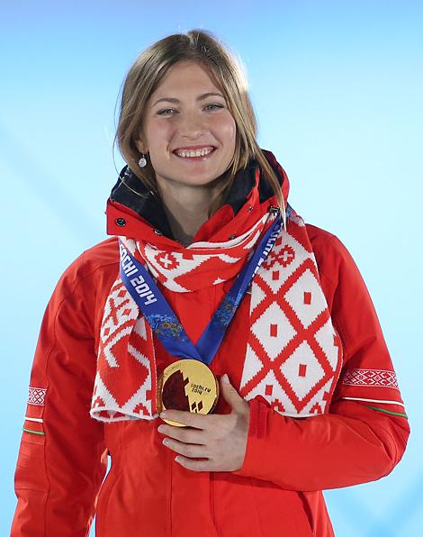 Олимпийская чемпионка сочи 2014
