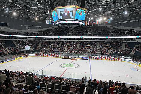 Чемпионата мира по хоккею 2014 в минске