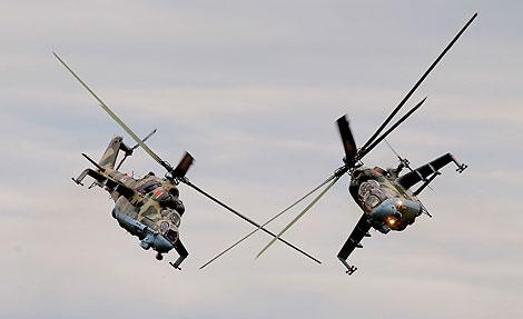 Los helicópteros Mi-24