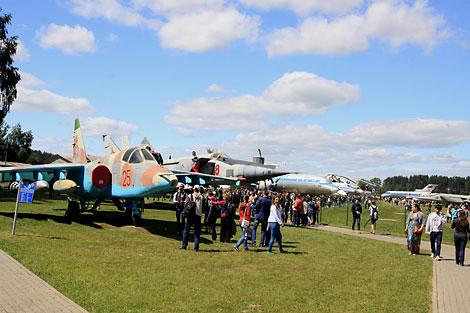 Open-air aircraft museum