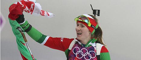 Беларусь на Олимпиаде в Сочи by Первое золото Беларуси принесла Дарья Домрачева
