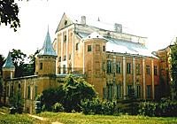 Нясвіжскі замак пасля Другой сусветнай вайны
