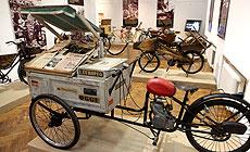 Выставка раритетных велосипедов в Минске
