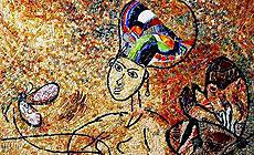 Выставка итальянской мозаики