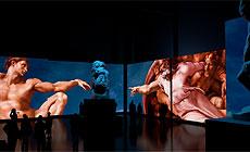 Michelangelo. The Creation   multimedia exhibition in Minsk
