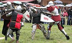 Gonar Prodkau 2015 knights' festival in Vileika