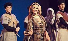 Georgian dance and song ensemble Salkhino