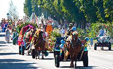 Gannensky Kirmash fair in Zelva