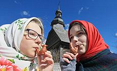 Belarusian folk rite Spring Calling