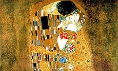 "Gustav Klimt ""Kiss"""