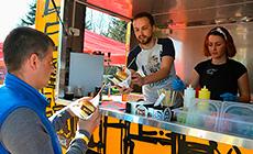 Street food festival in Minsk