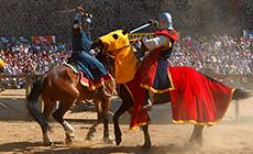 International festival of medieval culture Novogrudok Castle