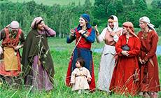 Ethnic festival Visiting the Radimichis