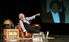 Pierre Richard's one-man show Pierre Richard III in Minsk