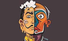 El Salvador Dali and Pablo Picasso in Minsk