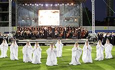 International festival of spiritual music Magutny Bozha (Almighty God)