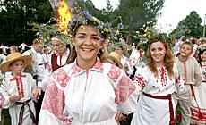 Open-air concert Kupalye in Dudutki