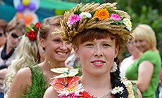 Flower Festival 2014 in Zheludok