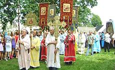 Прастольнае свята ў гонар абраза Маці Божай Адзігітрыі