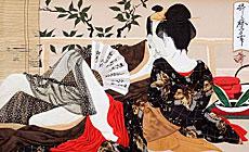 Японская гравюра ў стылі ўкіё-э