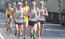 """III Міжнародны марафон Дружбы """"Гродна - Друскінінкай 2013"""""""