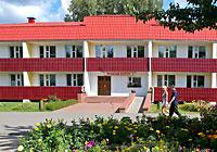 The Lesnye Ozera health resort in the Barkovshchina health resort area
