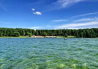 The Sosny health resort near Lake Naroch