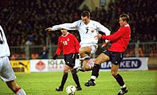 Чэмпіянат свету-2002. Беларусь-Нарвегія (2:1)