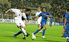 Кваліфікацыйны турнір да чэмпіянату свету-2006. Беларусь-Італія