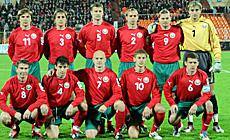 Зборная Беларусі па футболу