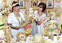 Белорусские сувениры из соломы