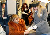 Электропоезд региональных линий бизнес-класса Белорусской железной дороги
