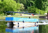 Речной трамвай на Августовском канале