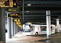 Tsentralny bus terminal in Minsk