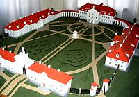 Макет резиденции в Ружанах