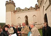 Реставрация дворца Пусловских