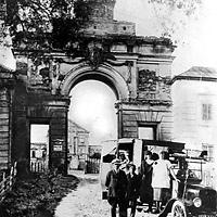 Ружанскі палац у пачатку ХХ стагоддзя