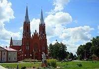 Костел Святой Троицы в г.п. Видзы