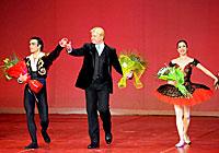Андрис Лиепа в Большом театре Беларуси