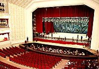 Сцена Большого театра Беларуси