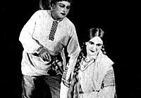 Scene from Mikhas Padgorny opera by Yevgeny Tikotsky