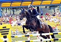 Этап Кубка мира по конному троеборью в Ратомке