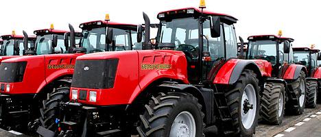 MTZ-made tractors