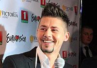 Belarus' singer Yuri Vashchuk