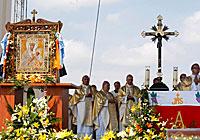 Торжества в честь 400-летия обретения Будславской иконы Божией Матери
