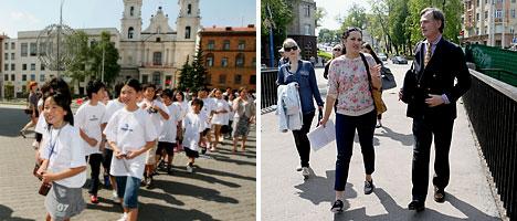 Экскурсіі ў Мінску