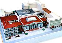 Макет музейного квартала в Минске