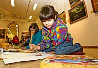 Дзіцячая творчая майстэрня ў музеі