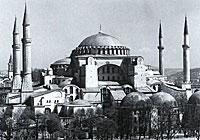 Hagia Sophia Cathedral in Constantinople, IV century