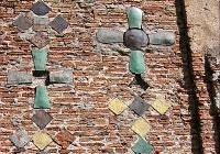 Украшение стен Коложской церкви